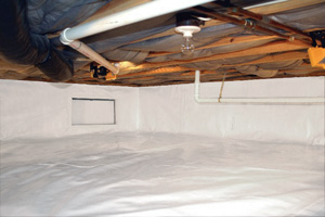 Crawl Space Repair After in Ogden