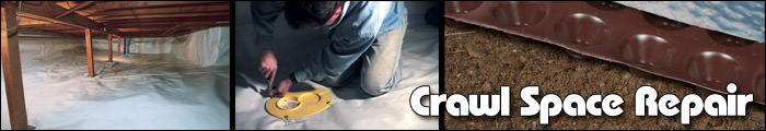 Crawl Space Repair in UT, including Provo, Sandy & Salt Lake City.