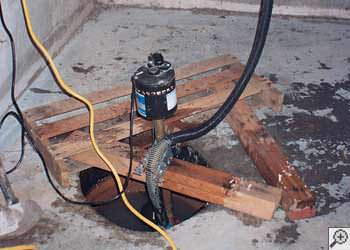 A Tooele sump pump system that failed and lead to a basement flood.