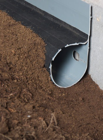 crawl space drain system installed in Clearfield