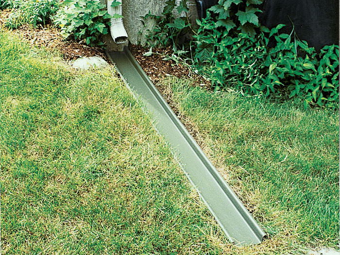 Gutter downspout extensions by utah waterproofers extend for Downspout drain