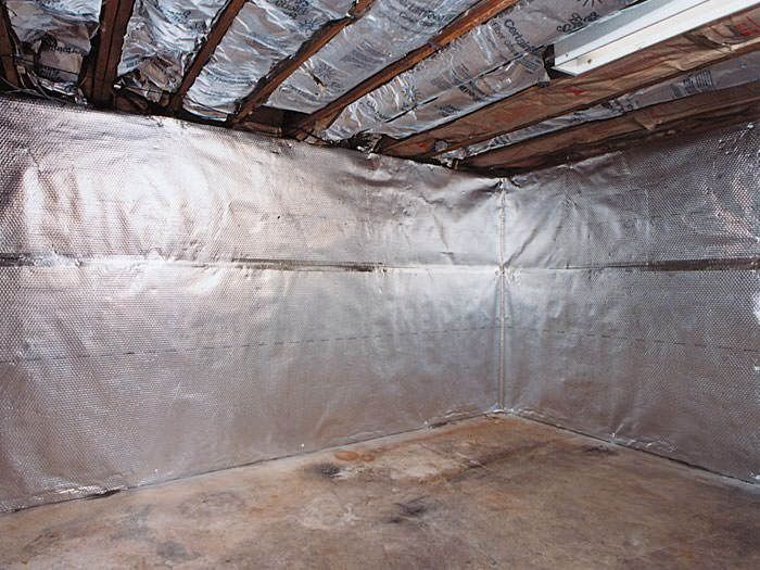 ... An Energy Efficient Radiant Heat And Vapor Barrier For A Vernal Basement  Finishing Project