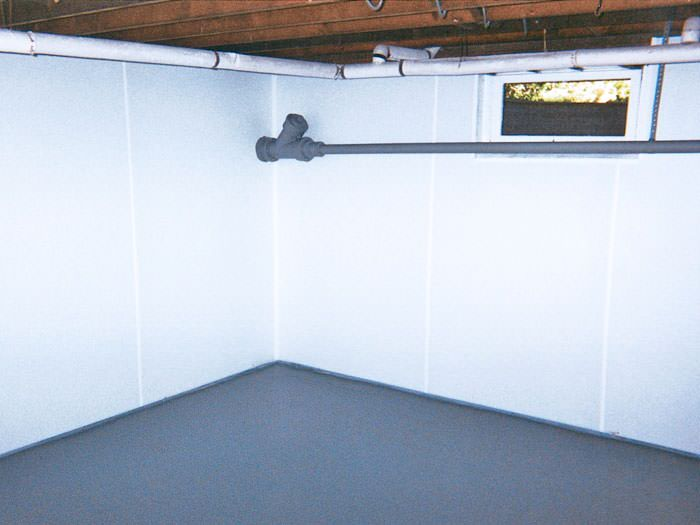 brightwall waterproof basement wall covering in ut wet basement wall